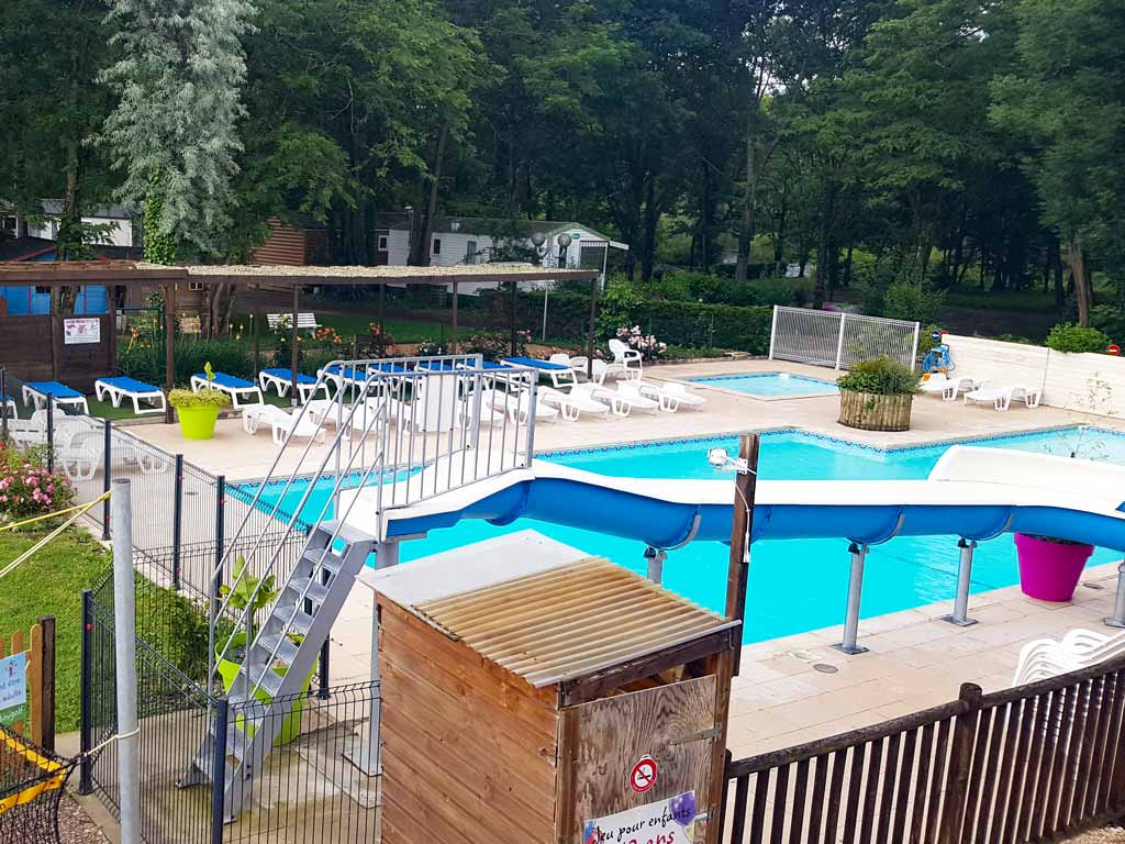 plage piscine camping rocamadour lot